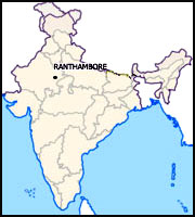 RANTHAMBORE MAP